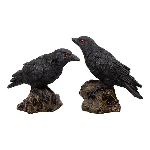 Raven small figurines
