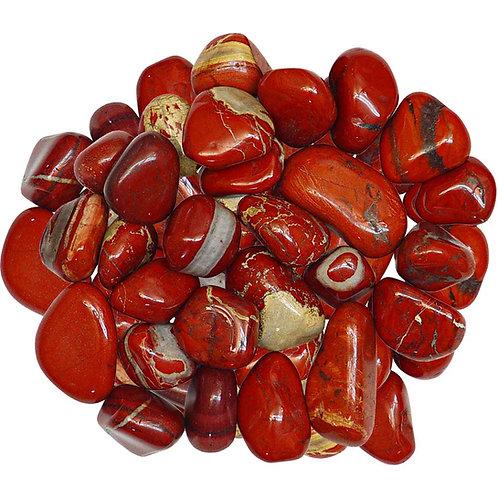 Jasper, Red tumbled stone