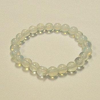 Opalite 8 MM stone bracelet