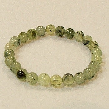Prehnite 8 MM stone bracelet