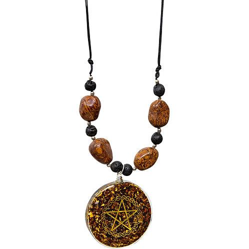 Mariam Jasper Orgonite necklace