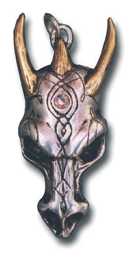 Dragon Skull Pendant