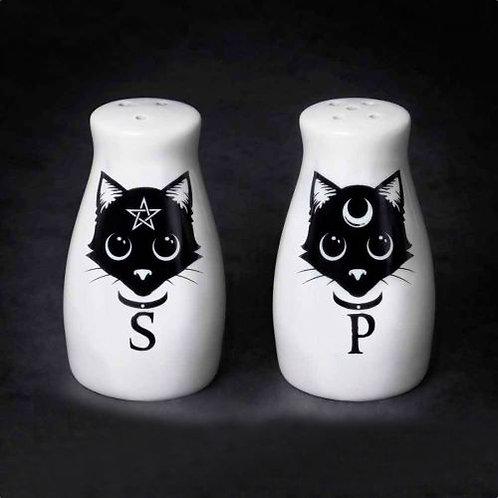 Cats Salt & Pepper Shaker set