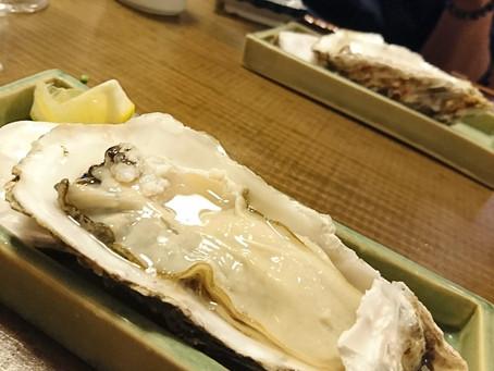 牡蠣、雲丹