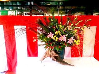 成人式ー祝い花