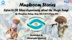 Mushroom Stories 2 meetup