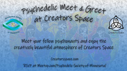 Psychedelic Meet and Greet at Creators S