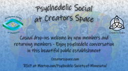 Psychedelic Social at Creators Space