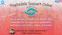 Psychedelic Support Online meetup