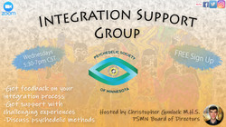 Integraation Support Group  meetup