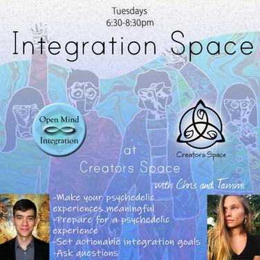 Integration Space at Creators Space sq 2