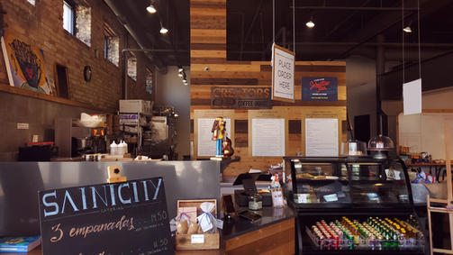Creators Cup Coffee House and Saint City Catering