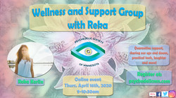 Wellness and Support Group w Reka Meetup