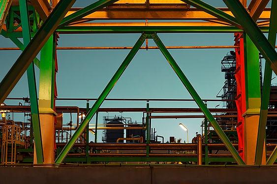 Hommage photographique de la raffinerie de Petit-Couronne