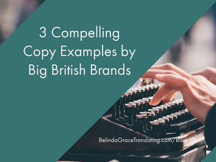 3 Compelling Copy Examples by Big British Brands