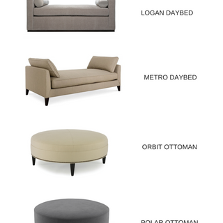 BENCH DAYBEDS AND OTTOMANS