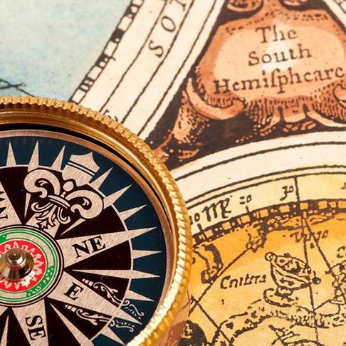 Surviving challenges: Following life's little compass.