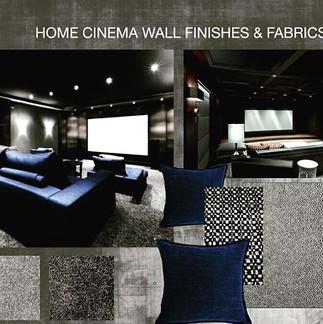An intimate Home Cinema