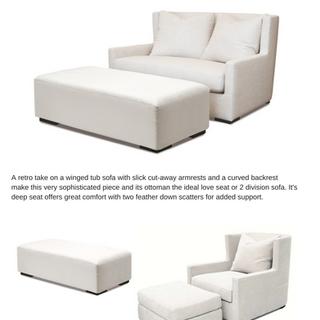 Boston Duo & Lounge Chair