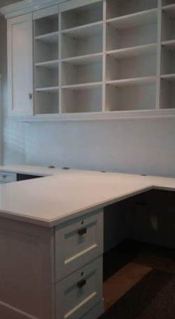 Victory Park refurbished hand painted cabinetry