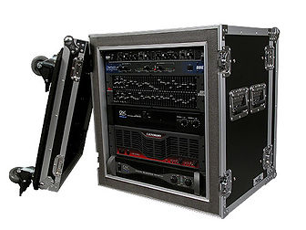 Our Shock-Mount Amplifier rack cases are available from 4U to 18 U's