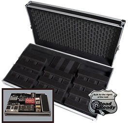 All this wrapped up in a rugged ATA style road case _ it's the pedal board solution you've been waiting for!