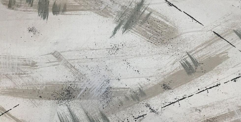 Modern  Sheen Teal, Black, & Taupe