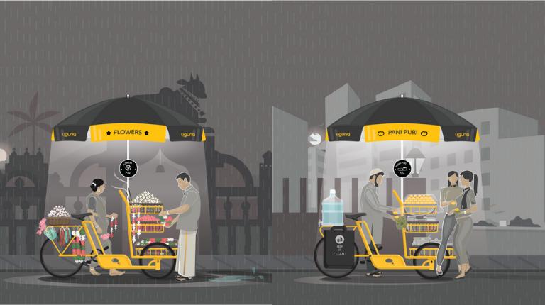 Street Vendor Cart