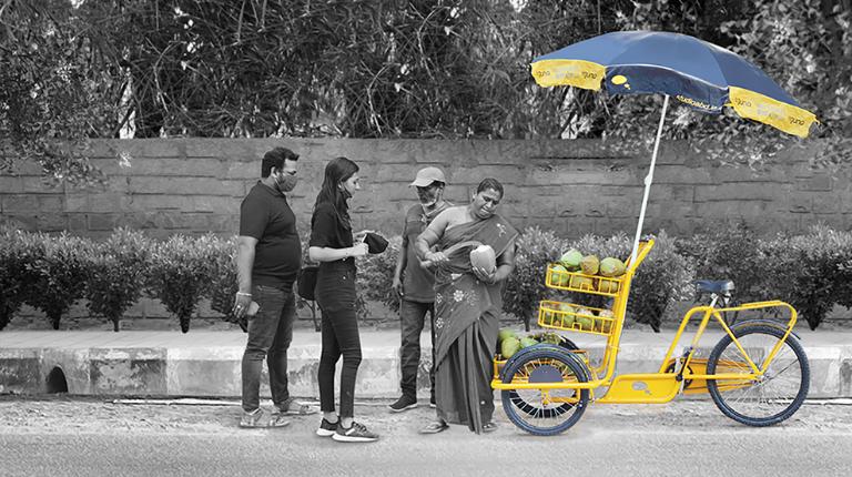 Vendors Cart Tigoona
