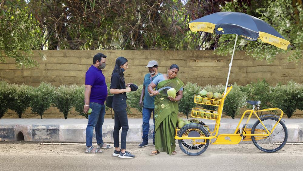 Women Street Vendors in India