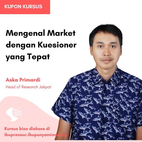 Kupon Mengenal Market dengan Kuesioner yang Tepat