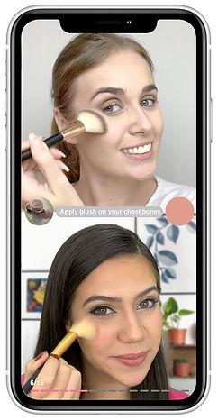 Makeup Tutorial In mobile app.jpg