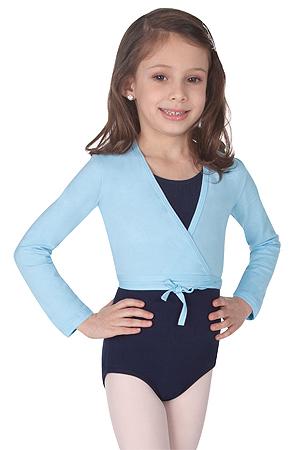 Child Cotton Wrap Sweater