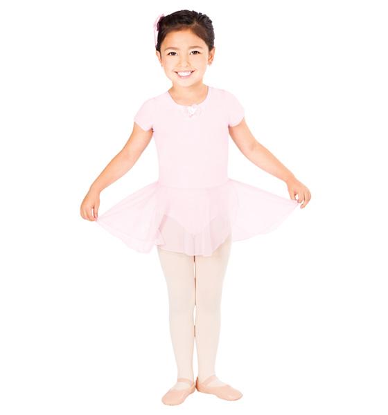 Dress and Barrett pink