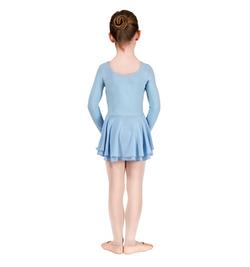 Blue long sleeve dance dress.png