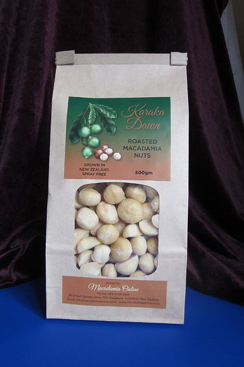 Roasted Macadamia Nuts 500gms