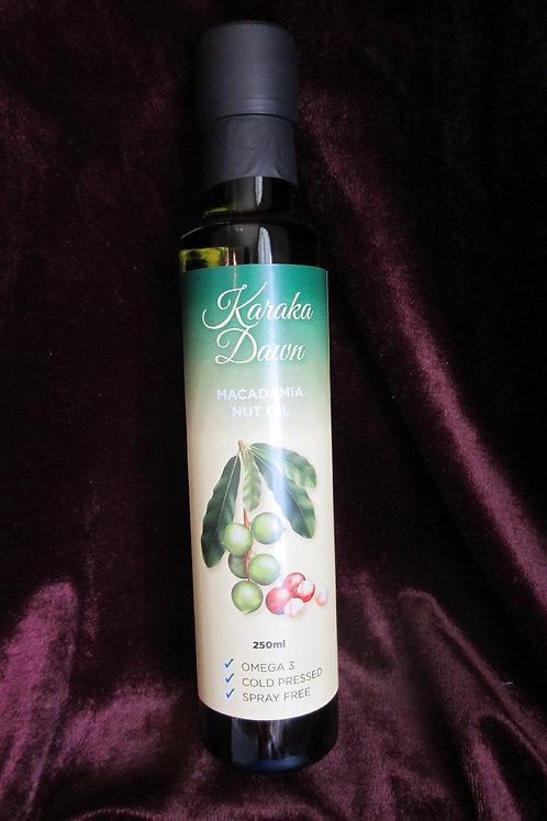 Macadamia Nut Oil 250mls