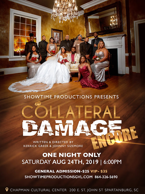 Collateral Damage VIP PRIORITY