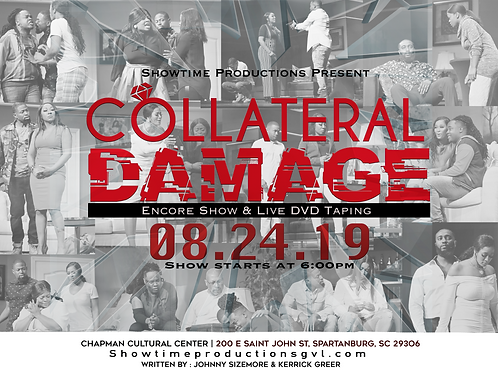 Collateral Damage 6pm - GA