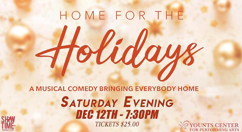 Saturday Evening - Dec 12th @ 7:30pm