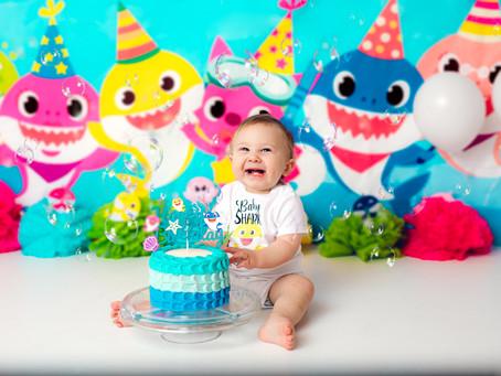 Baby Shark - Cake Smash