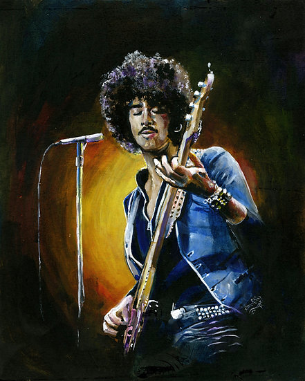 Phil Lynott in Denim