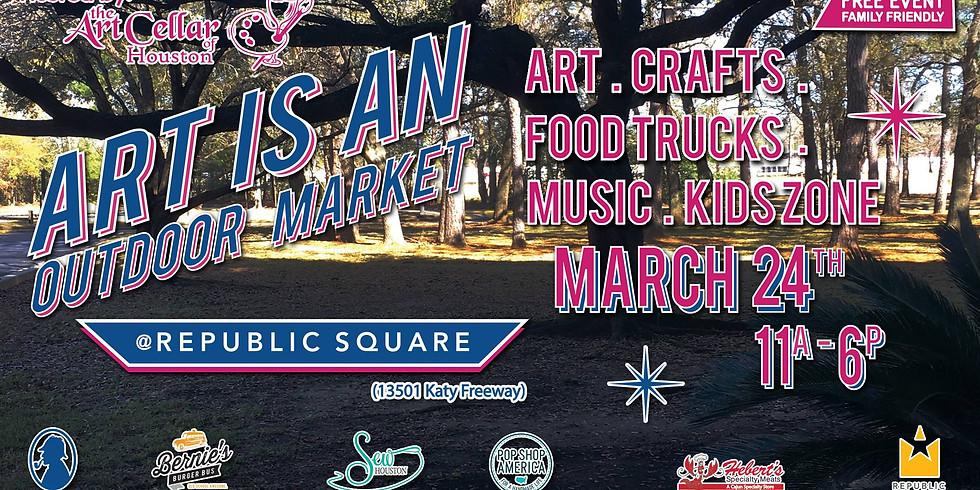 Art Is An Outdoor Market