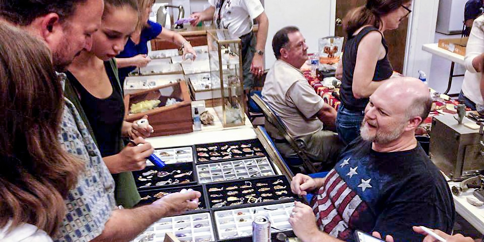 HGMS Fossil, Mineral, Gem and Jewelry Trade Show