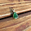 Thumbnail: 4ct Emerald in Pure Yellow Gold Pendant