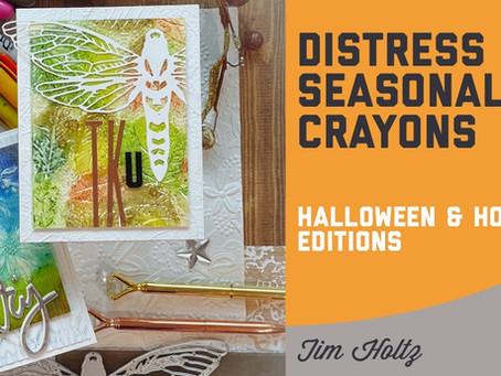Tim Holtz - Distress Seasonal Crayons