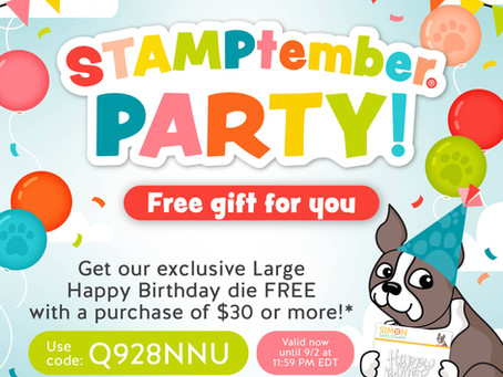 Simon Says Stamp - STAMPtember Blog Party