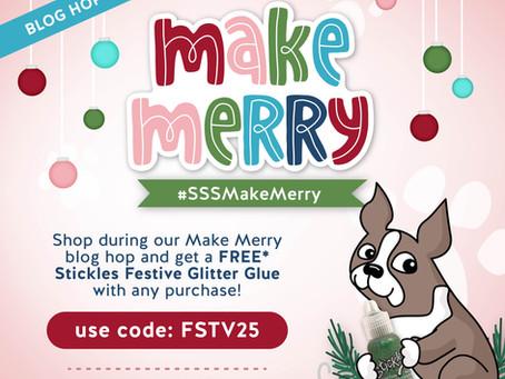 Simon Says Stamp - Make Merry Blog Hop