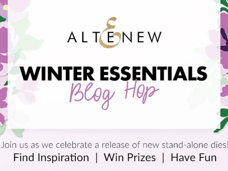 Altenew Winter Essentials Stand-alone Dies Release Blog Hop + Giveaway