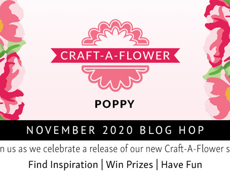 Altenew Craft-A-Flower: Poppy Release Blog Hop + Giveaway